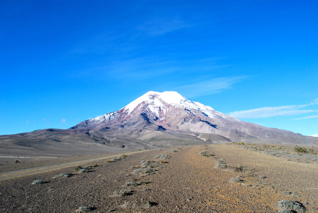 Chimborazo volcano. Image courtesy of David Torres Costales Pictures of Ecuador