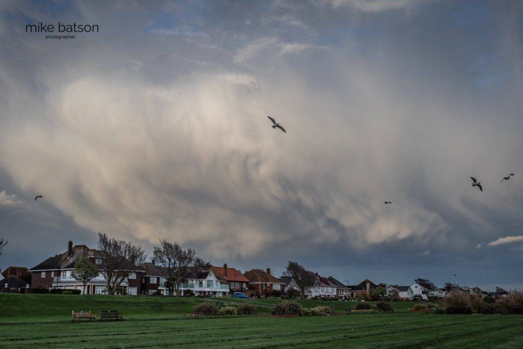 3rd Place Awesome clouds before the rain set in over Thorpe Bay Mike Batson @mikebatson5d