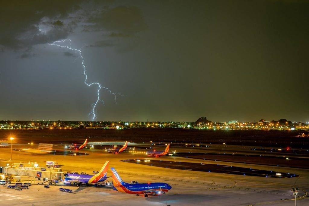 1st Place Thunderstorm over Phoenix Arizona during the 2018 Monsoon by Scott Wood @Scott_Wood