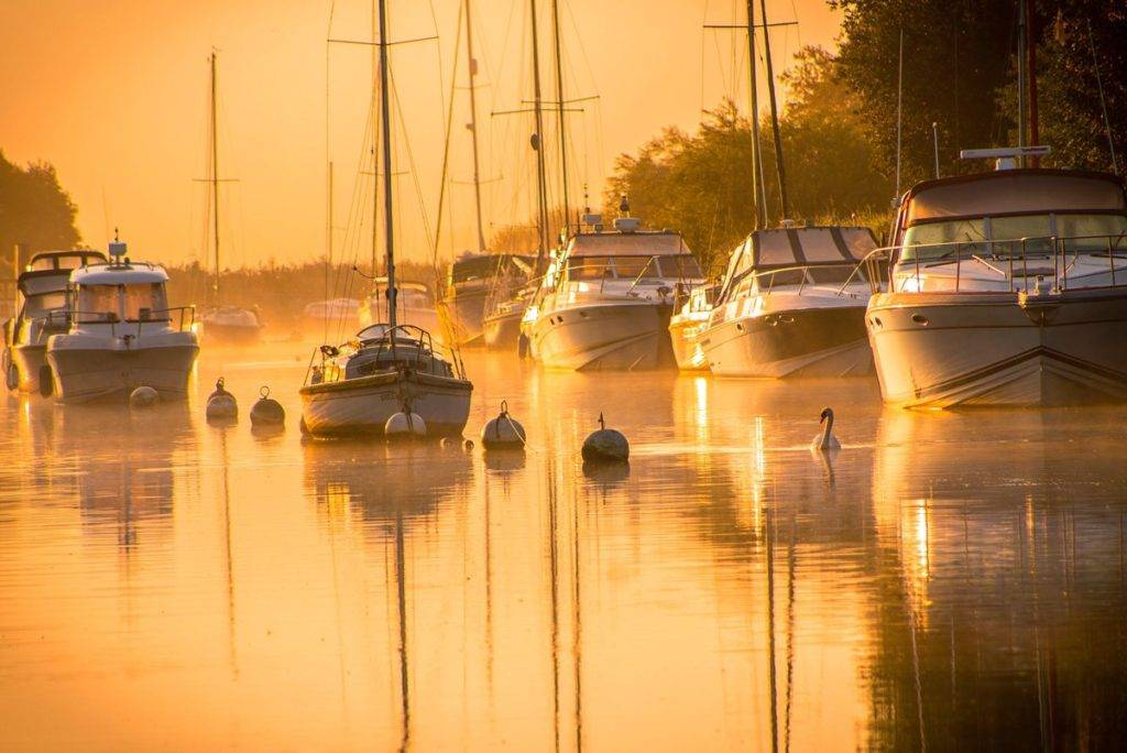 3rd Place Sunrise from Wareham in Dorset by Rachel Baker @Saintsmadmomma