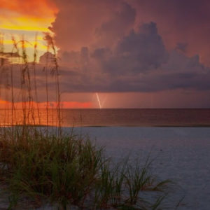 1st_Place_Sunset_and_a_little_lightning_close_out_a_very_beautiful_day_on_St._Pete_Beach_in_Florida_by_Josh_Herrington_PicsTampaBay_thumb