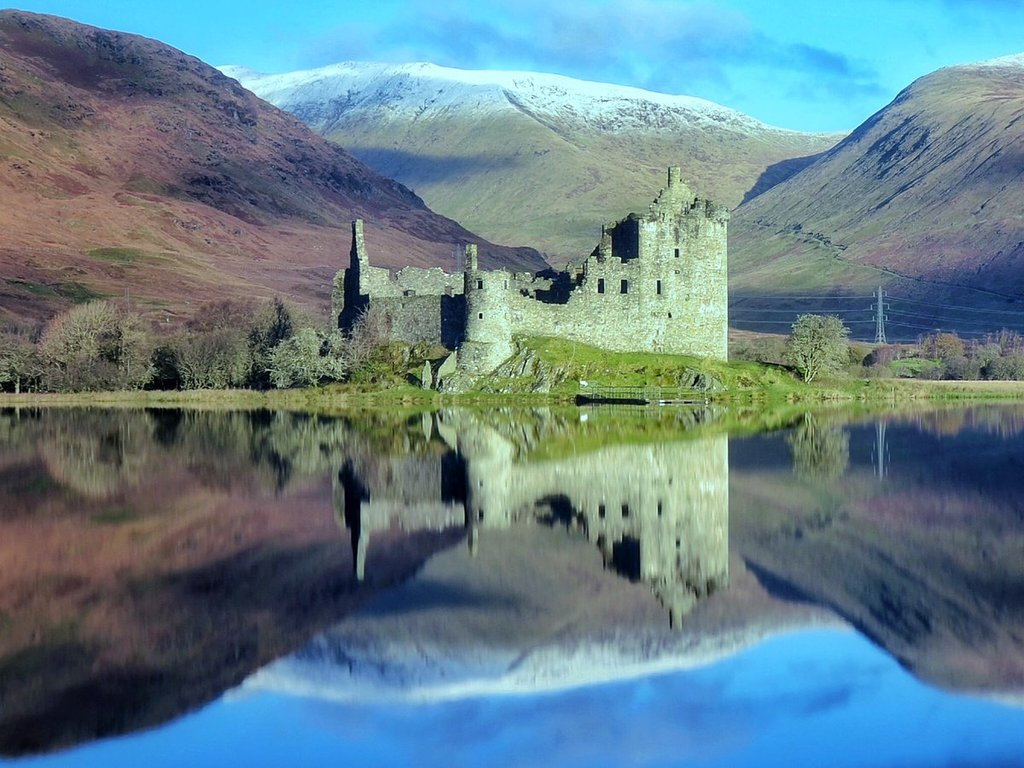 Loch_Awe_still_reflections_at_Kilchurn_Castle_Charles_McGuigan_CharlesMcGuiga2_1024x1024