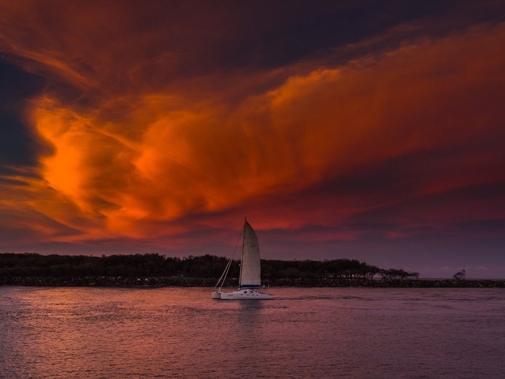 Sailing_into_the_red_._Southport_-_Australia_by_Glen_Anderson_Gleno_1024x1024