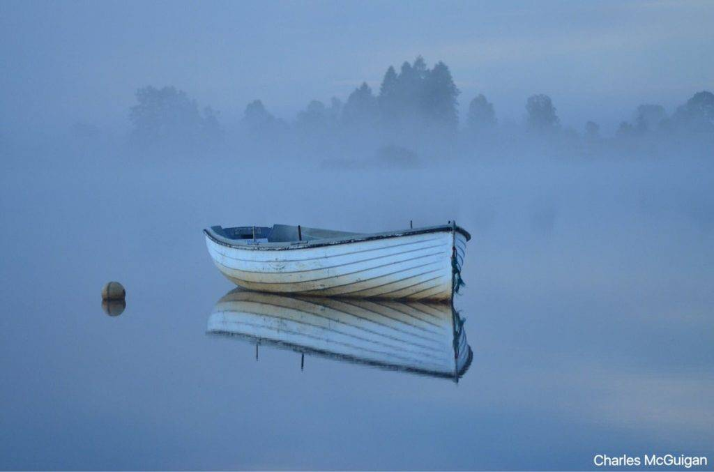 1st Place Charles McGuigan @CharlesMcGuiga2 Early misty morning in Scotland
