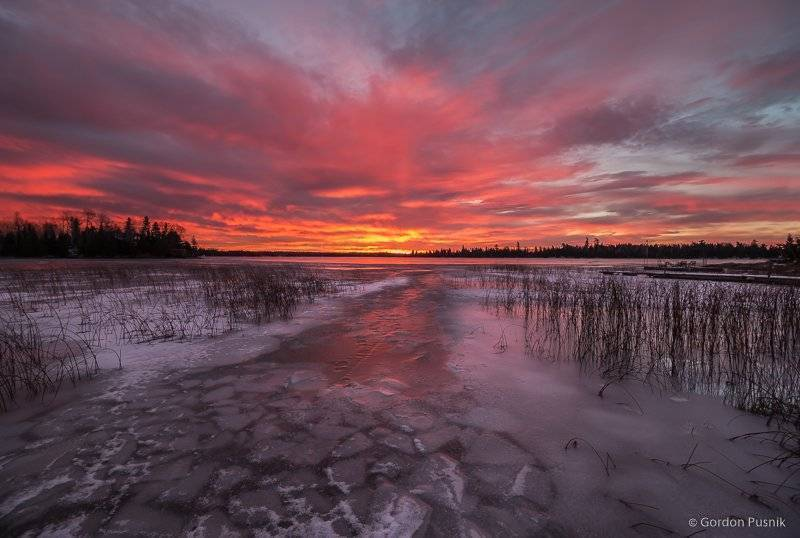 Fire and Ice - N.W. Ontario, Canada