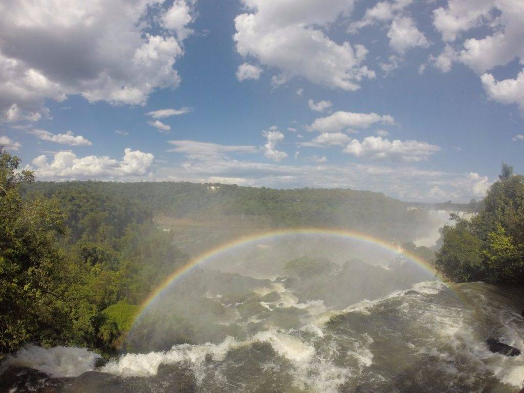 1st Place Gustav Teschner @gustav_te Great rainbow at the Iguacu Falls, Brasil! Nature is such a beauty.