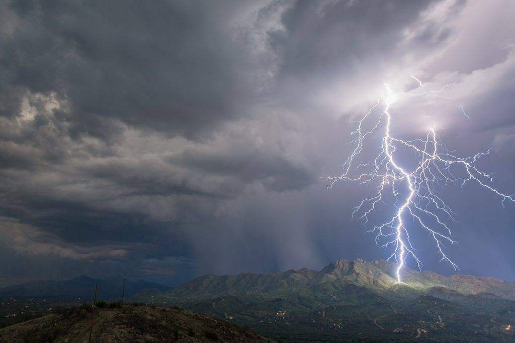1st Place Lori Grace Bailey @lorigraceaz storm over Rio Rico, AZ on August 16, 2016