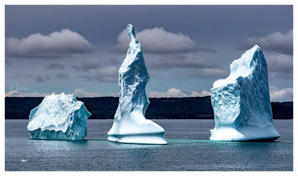 1st Place Iceberg in Upper Amherst Cove, Bonavista, Newfoundland by Glass Photography @GlassFotos