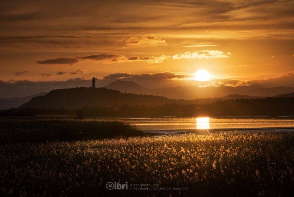 1st Place Sunset over the mountains by Brian Smith @iBri_Photo