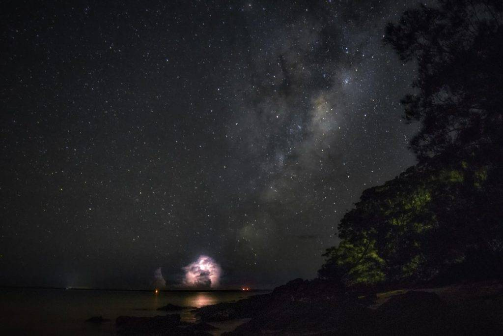 1st Place Wes Schulstad @Alienshores52 Sky Fire and Star Cities - Orion Beach, Jervis Bay NSW 22 April 2017