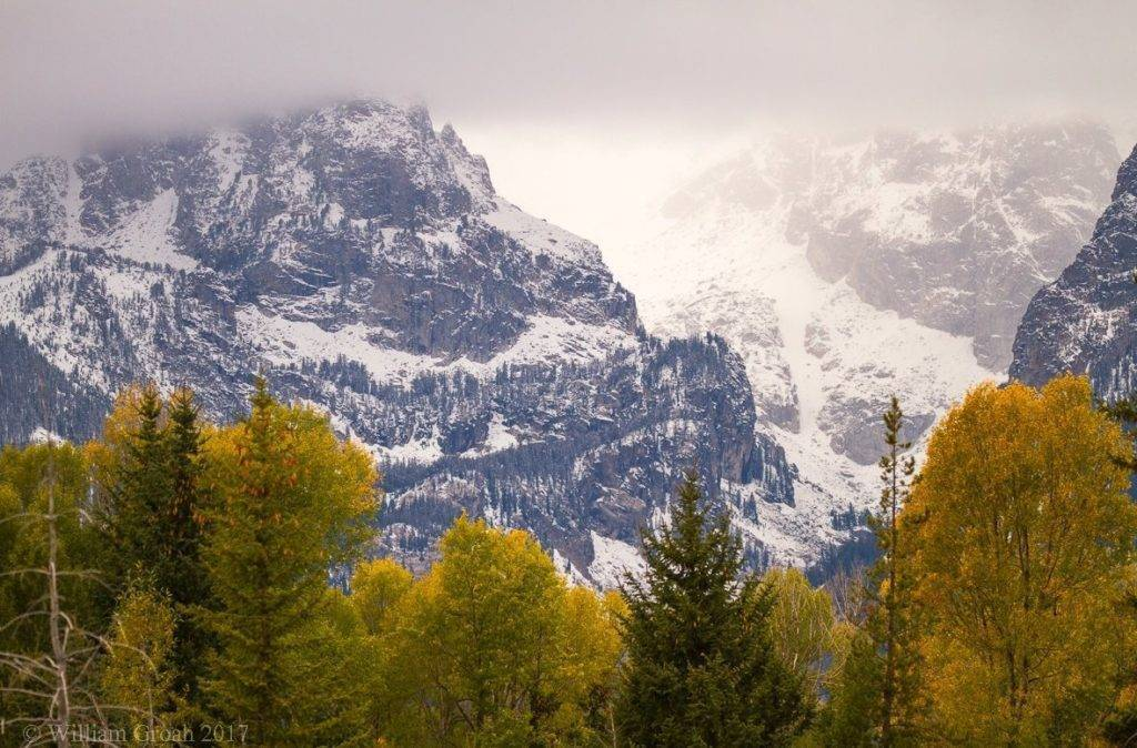 1st Place William Groah @WGroah Seasons collide at the Tetons in Wyoming