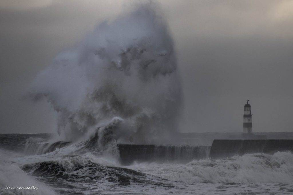1st Place simon c woodley @simoncwoodley Monster Wave Seaham Harbour in County Durham