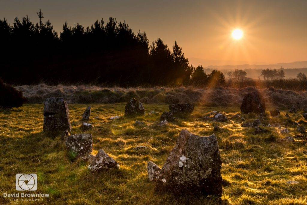 2nd Place David Brownlow @DBdigitalimages Beaghmore Stone Circles, located between Cookstown and the Sperrin Mountains in County Tyrone, Northern Ireland