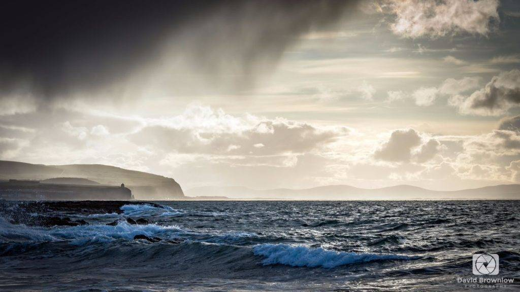 2nd Place David Brownlow @DBdigitalimages It's been a day of dramatic weather conditions here in Ireland, with wind and rain on the north coast