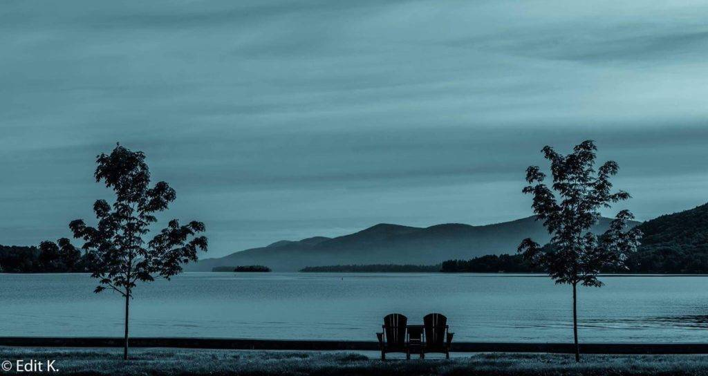 2nd Place Edit K. @007_edit A seat for two. Misty morning at Lake George, NY