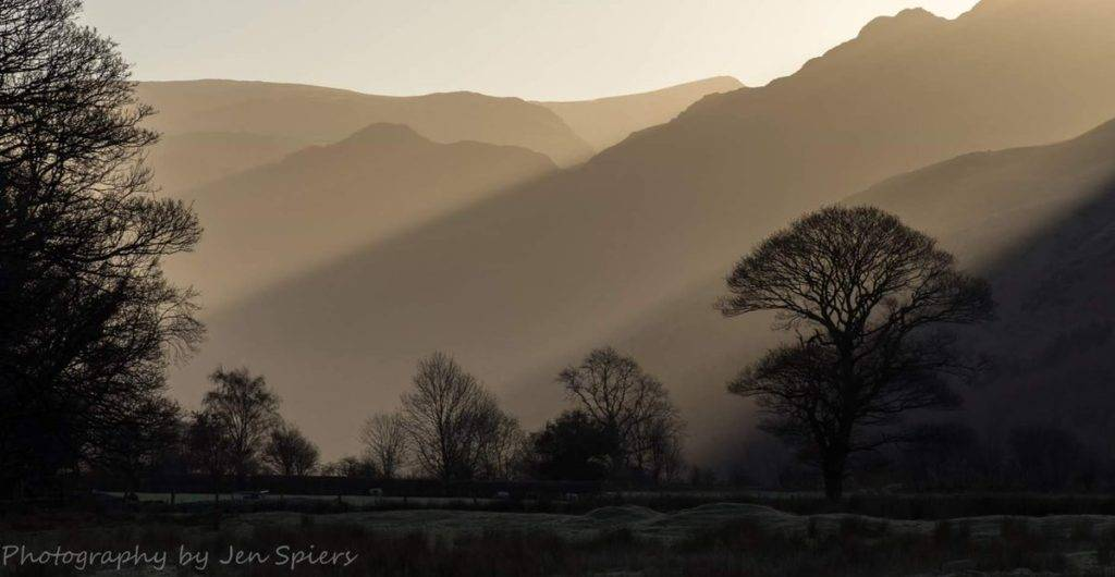Taken from the shore of Crummock Water, Lake District NP, looking towards Buttermere, on 2.1.17
