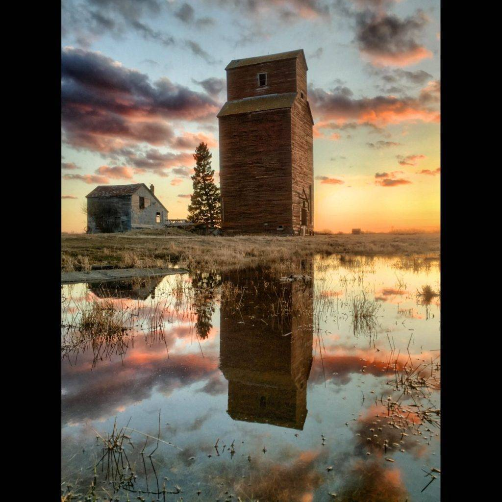 2nd Place Jill @Photochic2013 Saskatchewan sunset splendour!