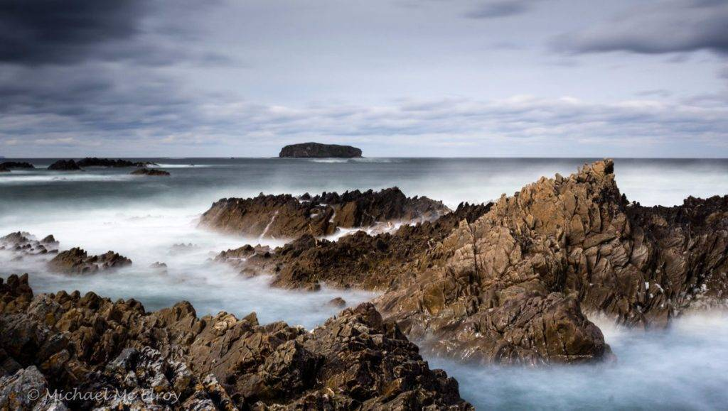 2nd Place Michael Mc Elroy @M_McElroy Jagged Little Rocks - Isle of Doagh, Co Donegal, Ireland