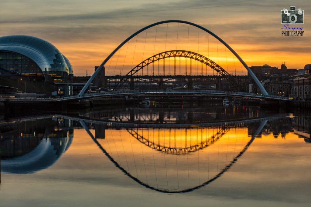2nd Place Sun Down on Newcastle Quayside by Coastal Portraits @johndefatkin