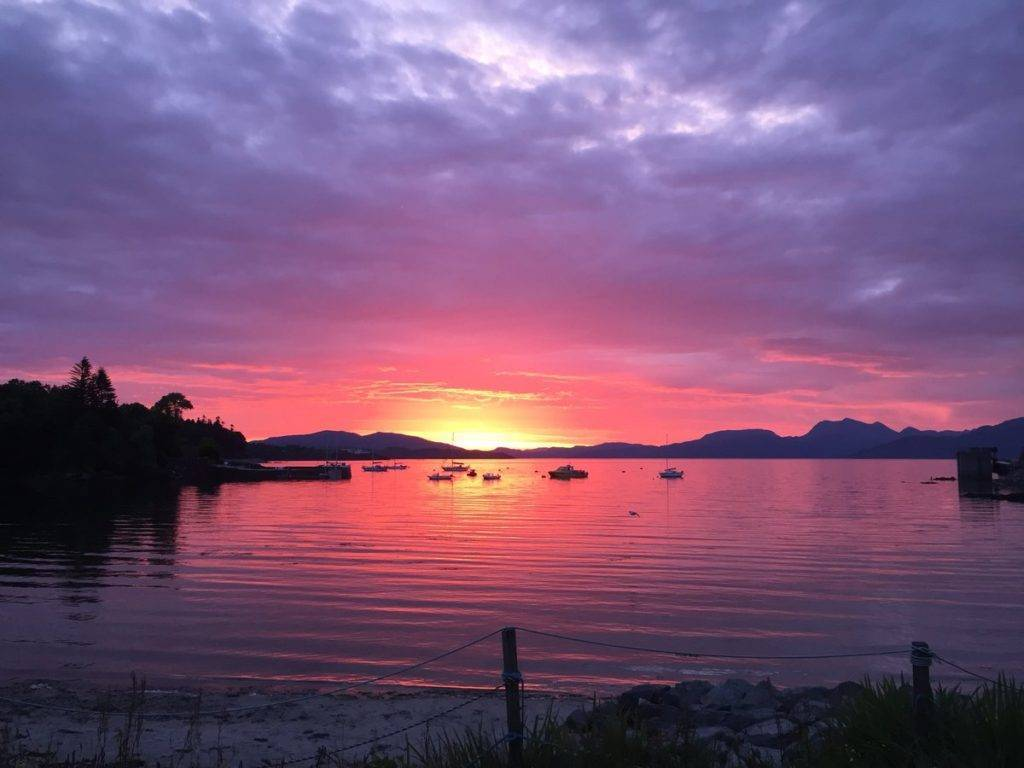 2nd Place Sunrise at Armadale Bay, Isle of Skye, Scotland by James MacInnes @Macinnesplant