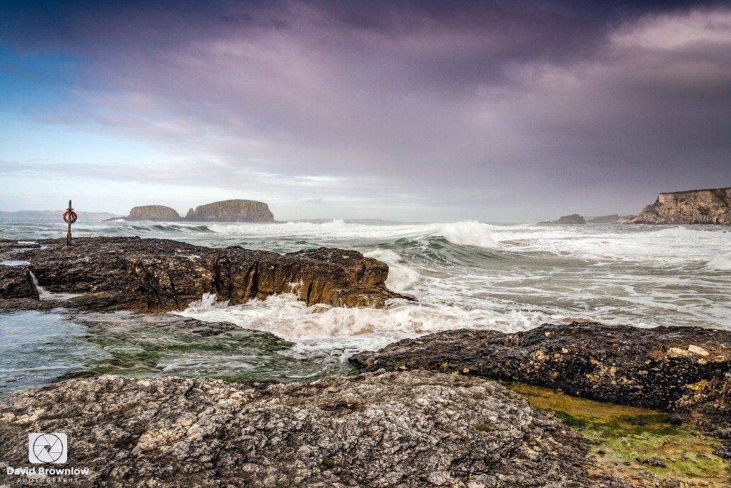 3rd Place David Brownlow @DBdigitalimages The rugged and weather-beaten north Antrim coastline near Ballintoy #NorthernIreland