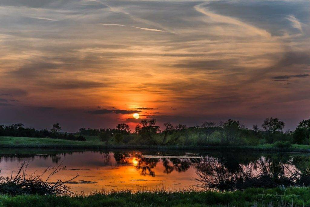 3rd Place Iowa Sunset by Lorygroe @58groe
