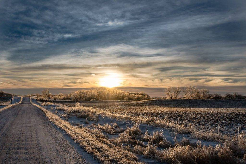 3rd Place Iowa country roads by Lorygroe @58groe