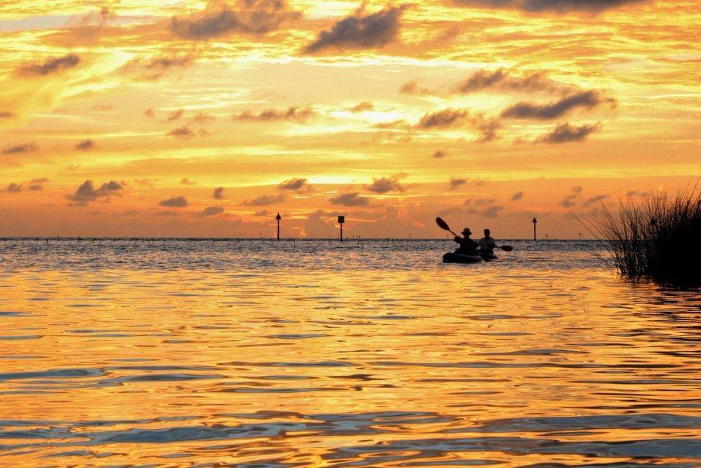 3rd Place Jon Morgan @JaM_Images Golden sunset over the Gulf of Mexico. Captured in Weeki Wachee, FL