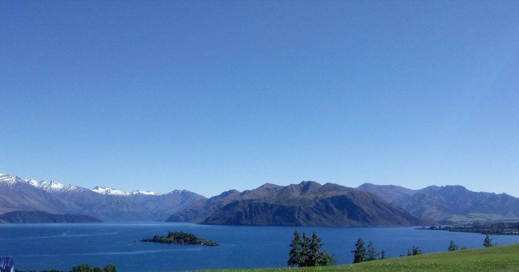 3rd Place Karina Fay @KarinaFayArt Rippon Vineyard - Lake Wanaka New Zealand