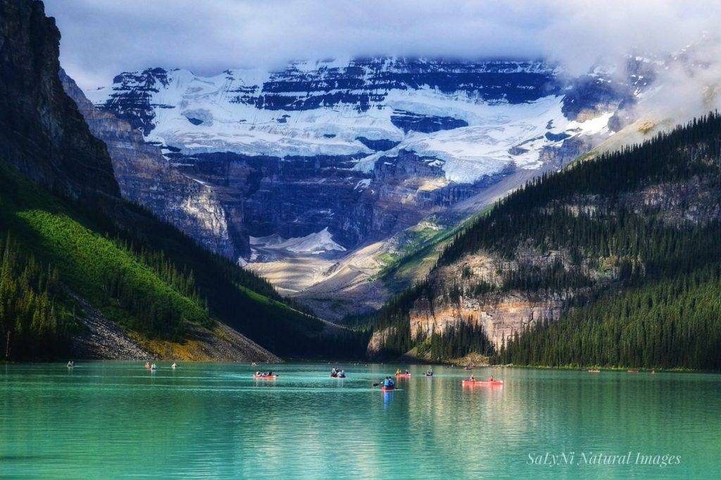 3rd Place Lake Louise, Victoria Glacier Banff National Park by Sandra Nicol @tennis45luv