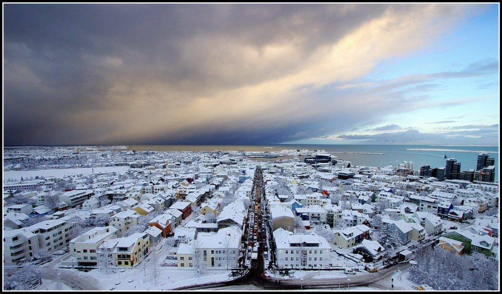 Reykjavik , exactly one year ago today. 2/12/15