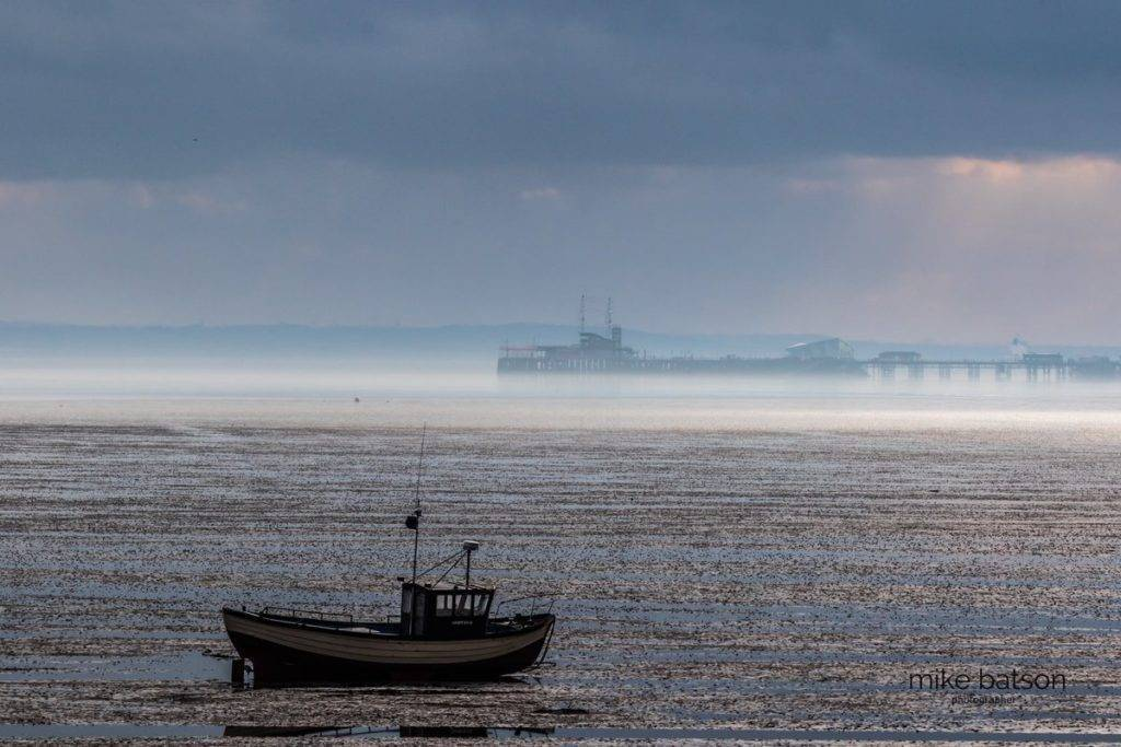 3rd Place Rather misty before the rain set in over the Thames Estuary in Southend by Mike Batson @mikebatson5d
