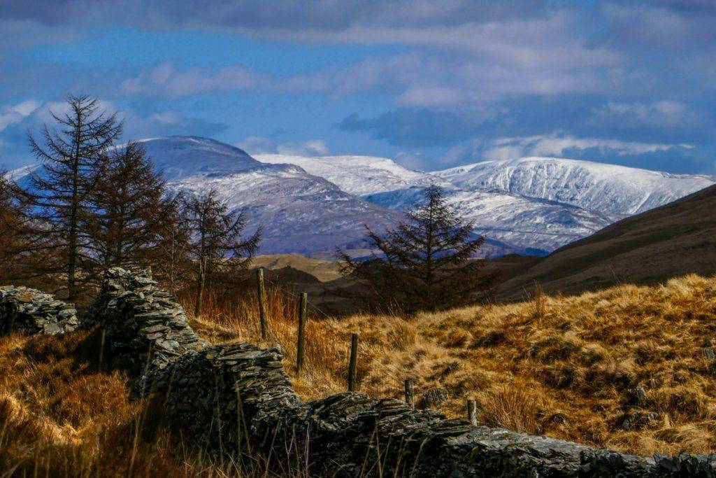 3rd Place Snow-capped fells looking lovely in the very welcome April sunshine by Jude@green @JUDITHM58257161