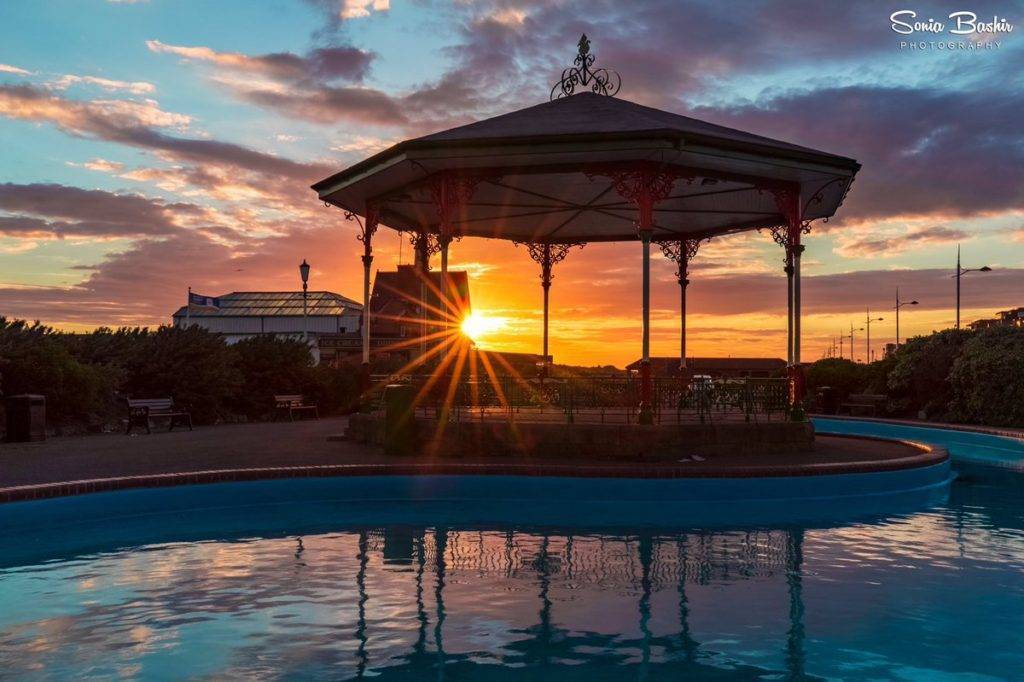 3rd Place Sonia Bashir @SoniaBashir_ Beautiful sunset from St Annes, Lancashire