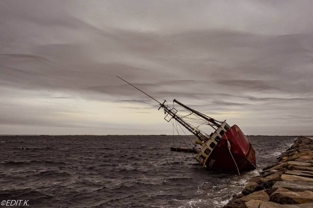 3rd Place The Artemis fishing vessel. Provincetown, MA by Edit K. @007_edit