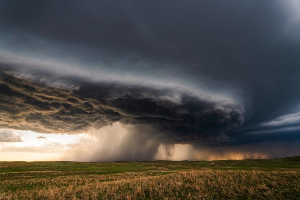 A beautiful storm south of Arthur, Nebraska by Mike Olbinski @MikeOlbinski