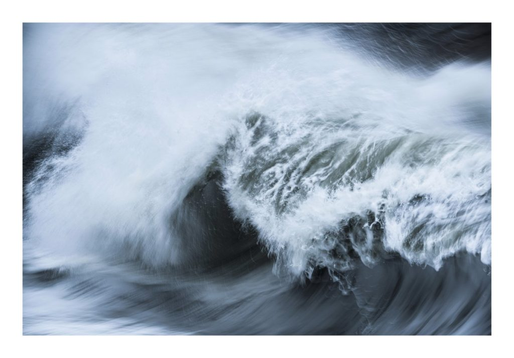 A wave close up from Storm Freya and Newhaven Harbour Edd Allen @EddAllenPhoto