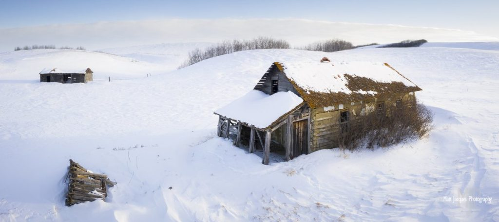 Another frozen slice of Saskatchewan history by Matt Jacques Photography @MattJacques