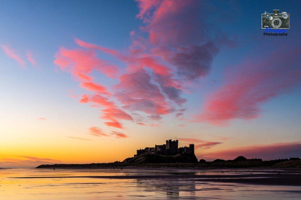 Bamburgh Sunrise by Coastal Portraits @johndefatkin