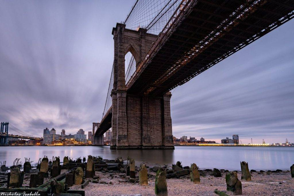 Beneath the Brooklyn Bridge by Nicholas Isabella @NycStormChaser