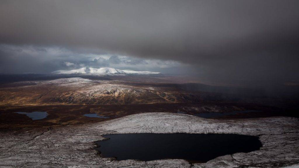 Calm before a snowstorm over the Munros by Jonathan Wood @jonwood1978