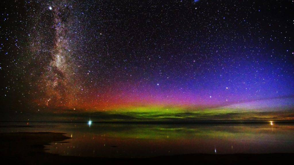 Milky Way at Awarua Bay, Invercargill, New Zealand by Anne-Marie Gutschlag @AnneMarie224