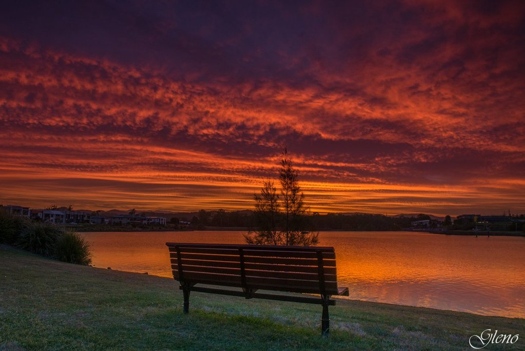 Please_take_a_seat_and_enjoy_the_sunset._Varsity_Lakes_Australia_by_Glen_Anderson_Gleno_1024x1024