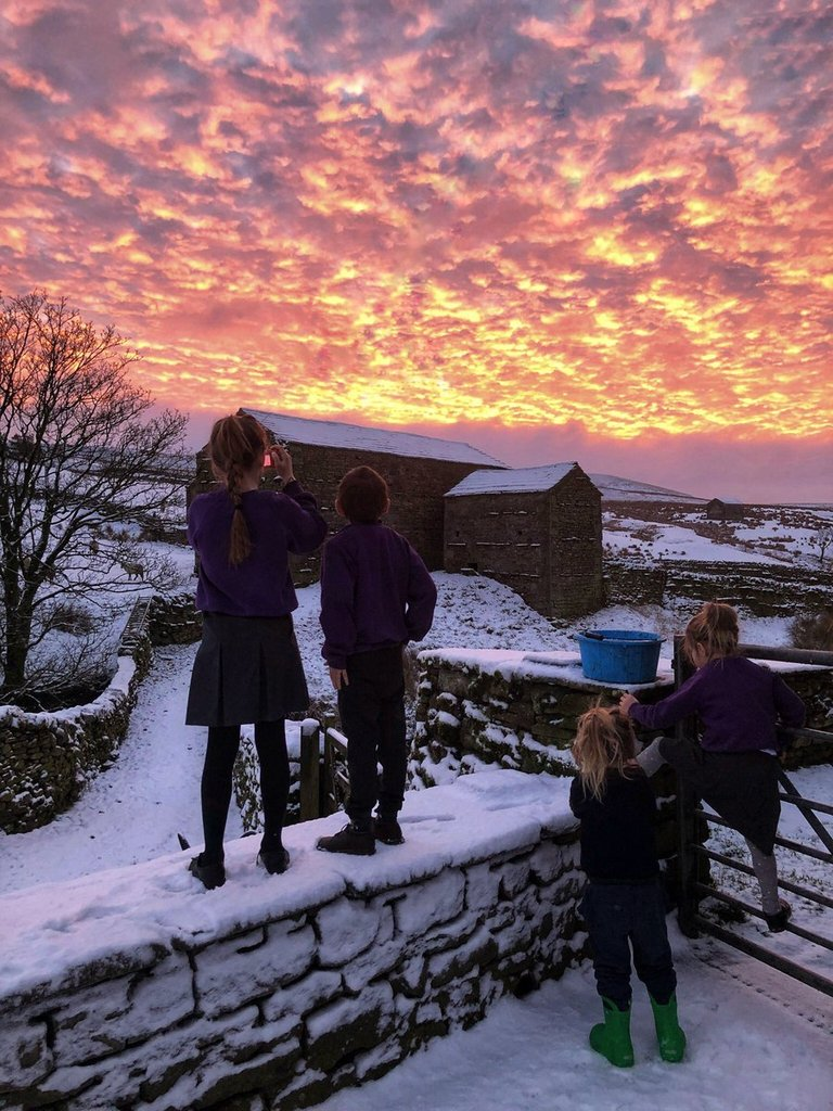 Red_sky_and_snow_over_Yorkshire_by_YorkshireShepherdess_AmandaOwen8_1024x1024