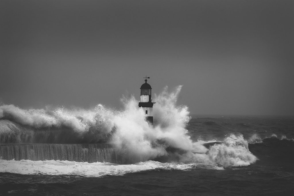 Stormy Seaham Harbour by Lee Stoneman @LPhotogr