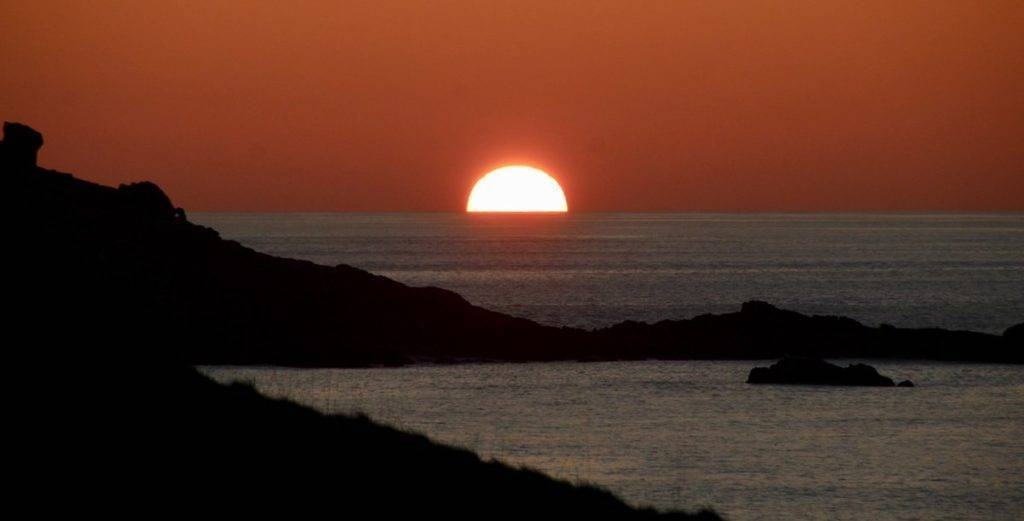 Sunset at St Ives, Cornwall by Lisa @BrownieLB_1