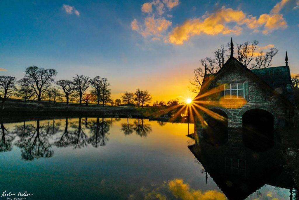 Sunset over Carton House yesterday evening near Dublin by Kevinnolanphoto @Kevinnolanphot1