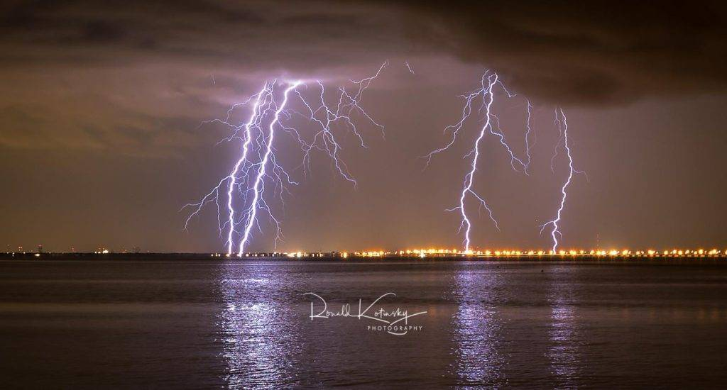 The 4 Bolts of Doom - Tampa Bay - Florida by Ronald Kotinsky @rkotinsky