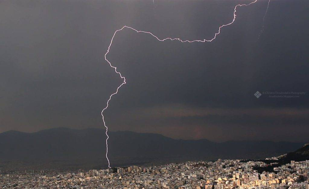 Thunderstorm over Athens by Chris D @csath