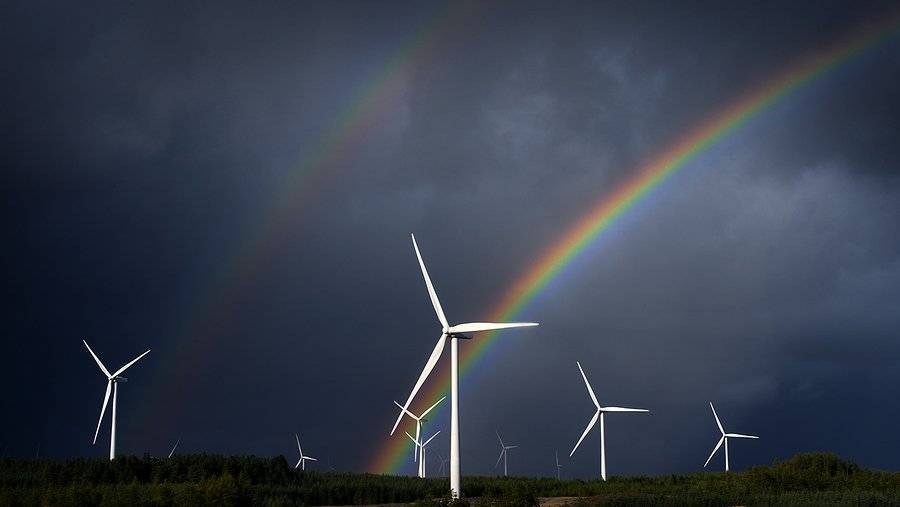 Windmills and rainbows and dark clouds.. Sounds like a few of my favourite things Mackenzie King Photography @photo_amk